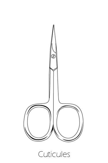 ciseaux cuticules