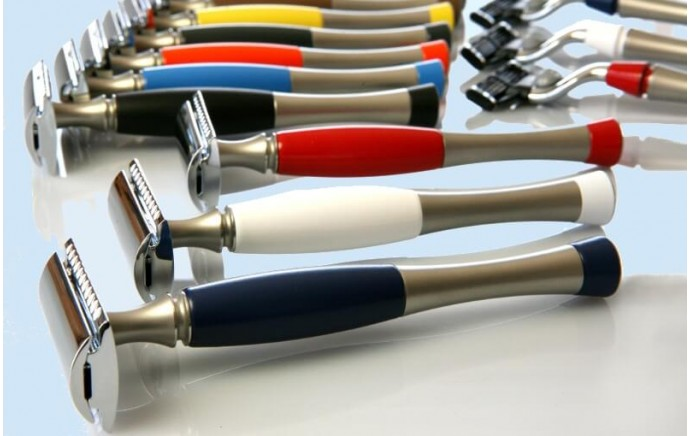 Des milliers de combinaisons pour une gamme de rasoirs personnalisés
